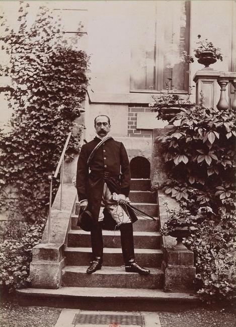 Henry de Sargenton - Tiré de l'ouvrage L'Equipage du marquis de Chambray - Photos de Maurice de Gasté (1894) - Bnf (Gallica)