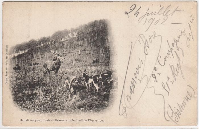 Equipage de Lyons-Halatte puis Par Monts et Vallons © Collection Claude Alphonse Leduc - Château de Montpoupon