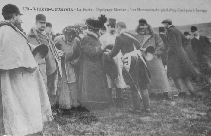 L'Equipage Menier - Collection A.-P. Baudesson - Don à la Société de Vènerie - 458