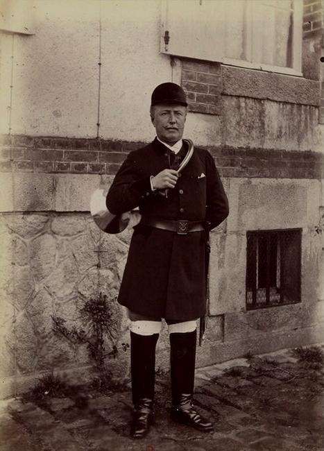 J. Houel - Tiré de l'ouvrage L'Equipage du marquis de Chambray - Photos de Maurice de Gasté (1894) - Bnf (Gallica)