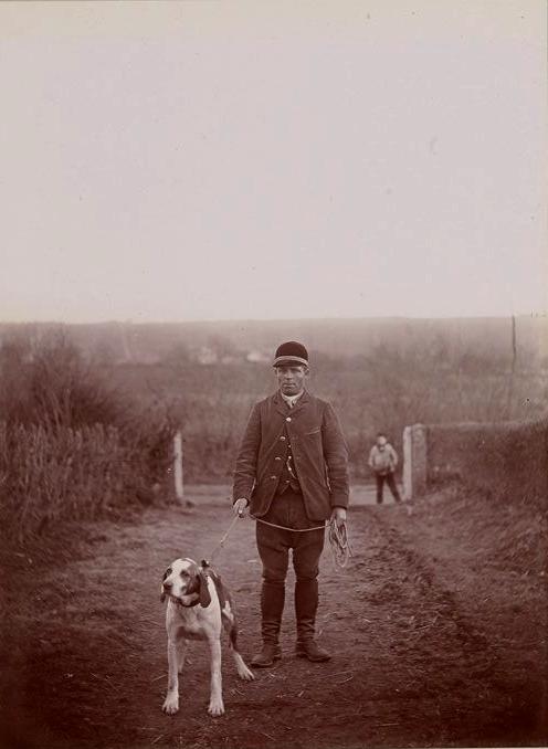 La Feuille (2) - Tiré de l'ouvrage L'Equipage du marquis de Chambray - Photos de Maurice de Gasté (1894) - Bnf (Gallica)
