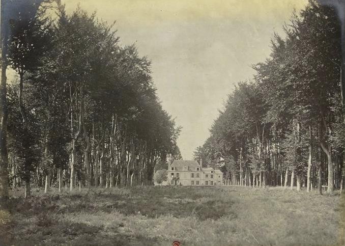 Les Houlles - Tiré de l'ouvrage L'Equipage du marquis de Chambray - Photos de Maurice de Gasté (1894) - Bnf (Gallica)