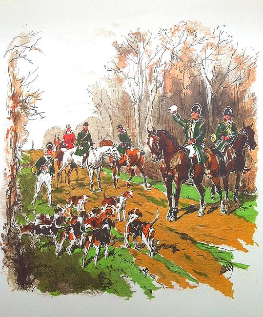 L'Equipage du prince de Wagram - Tirée de Les Hommes des Bois (2008) - R. d'Osmond - Bibliothèques des introuvables (Paris)
