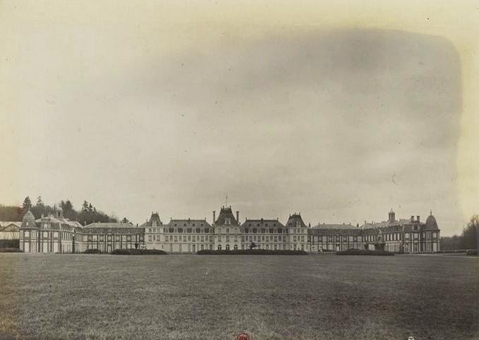 Les Vaux - Tiré de l'ouvrage L'Equipage du marquis de Chambray - Photos de Maurice de Gasté (1894) - Bnf (Gallica)