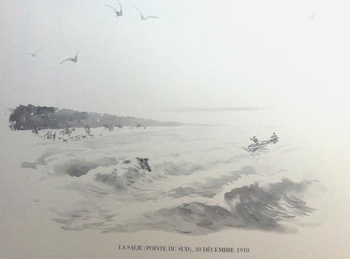 Rallye Gascogne -Illustration tirée de l'ouvrage La Vénerie française contemporaine (1914) - Le Goupy (Paris)