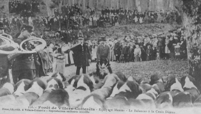 L'Equipage Menier - Collection A.-P. Baudesson - Don à la Société de Vènerie - 498