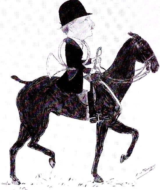 Louis Richard - Tiré de l'ouvrage Deux Siècles de Vènerie à travers la France - H. Tremblot de la Croix et B. Tollu (1988)