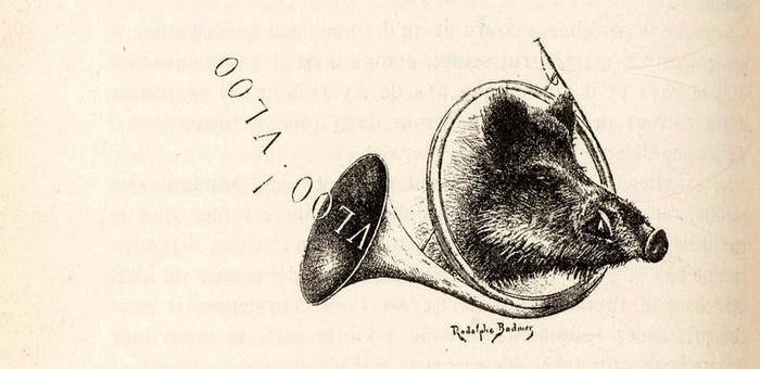 Illustration tirée du Manuel de Vènerie française - Emmanuel Le Couteulx de Canteleu (1890) - Hachette et Cie (Paris) - BnF (Gallica) 12