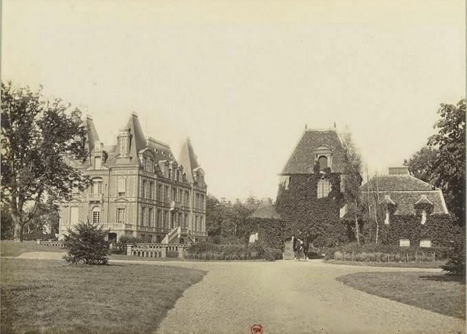 Les Bois Francs - Tiré de l'ouvrage L'Equipage du marquis de Chambray - Photos de Maurice de Gasté (1894) - Bnf (Gallica)