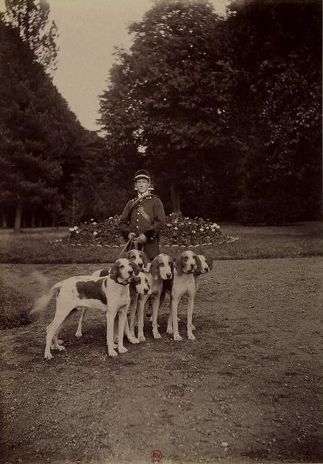 La Gigue - Tiré de l'ouvrage L'Equipage du marquis de Chambray - Photos de Maurice de Gasté (1894) - Bnf (Gallica)