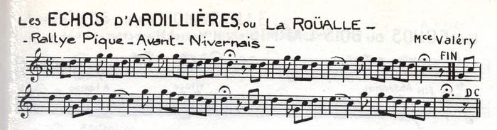 Les Échos d'Ardillières ou La Roüalle (2)