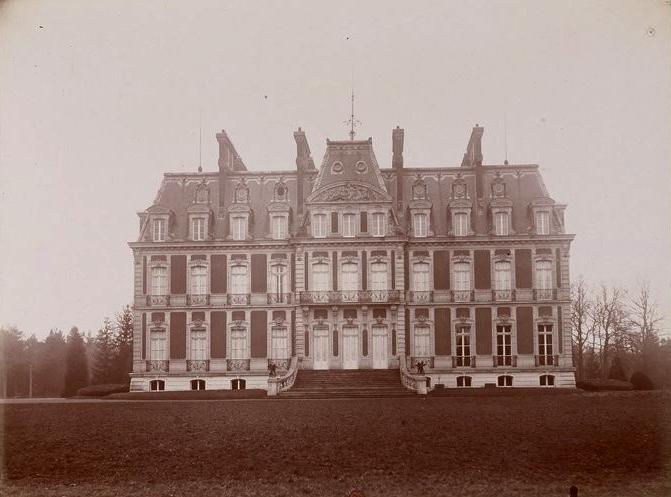 Souvilly - Tiré de l'ouvrage L'Equipage du marquis de Chambray - Photos de Maurice de Gasté (1894) - Bnf (Gallica)