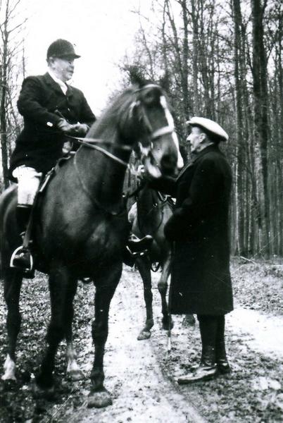Le duc de Westminster et le prince Sturdza Don M. Berge