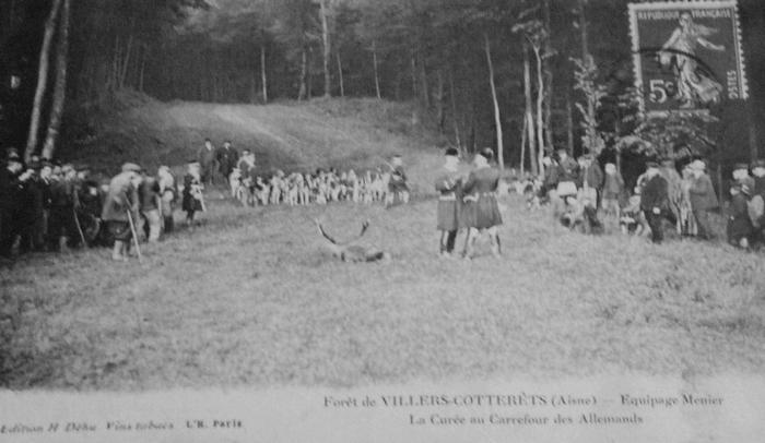 L'Equipage Menier - Collection A.-P. Baudesson - Don à la Société de Vènerie - 514
