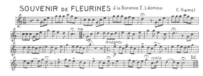 Souvenir de Fleurines