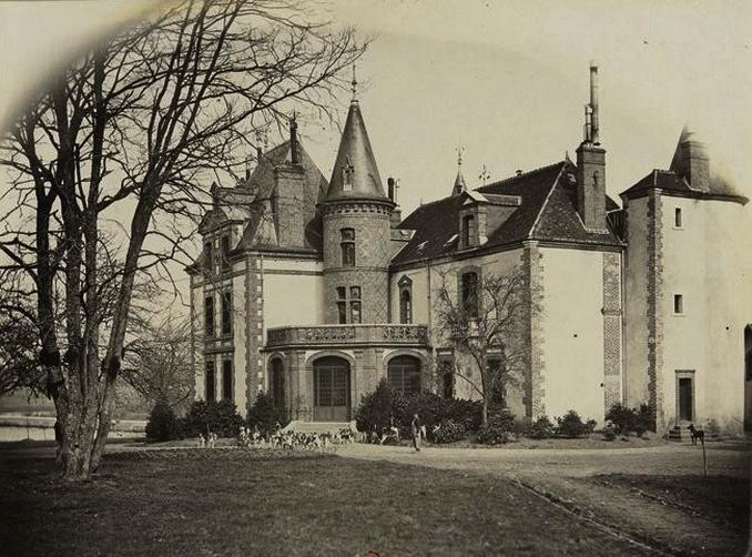 Tardais - Tiré de l'ouvrage L'Equipage du marquis de Chambray - Photos de Maurice de Gasté (1894) - Bnf (Gallica)