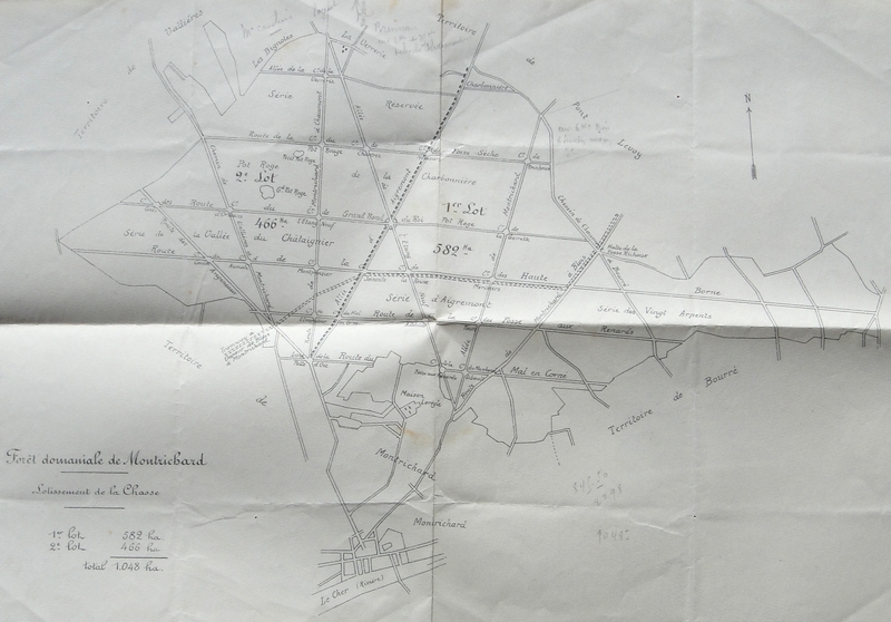 Plan de la Forêt Montrichard