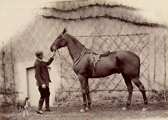 N... par Retreat et Browstring - Tiré de l'ouvrage L'Equipage du marquis de Chambray - Photos de Maurice de Gasté (1894) - Bnf (Gallica)