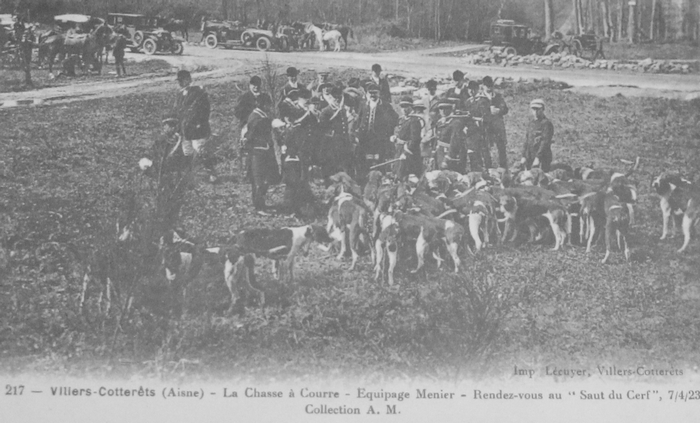L'Equipage Menier - Collection A.-P. Baudesson - Don à la Société de Vènerie - 87