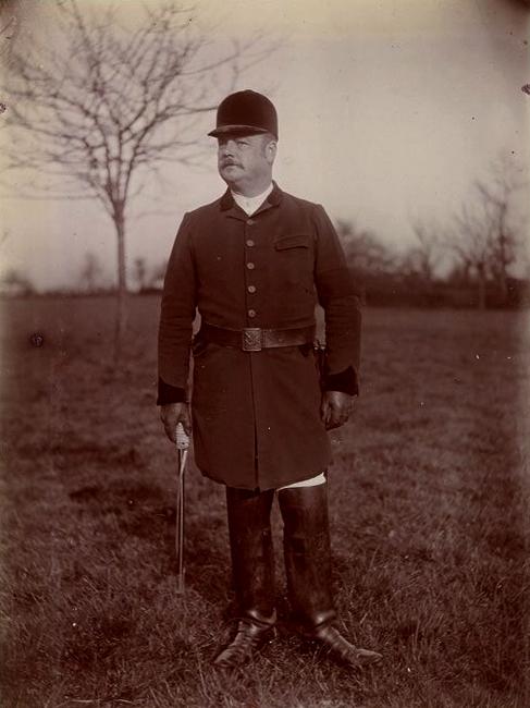 Pillet - Tiré de l'ouvrage L'Equipage du marquis de Chambray - Photos de Maurice de Gasté (1894) - Bnf (Gallica)