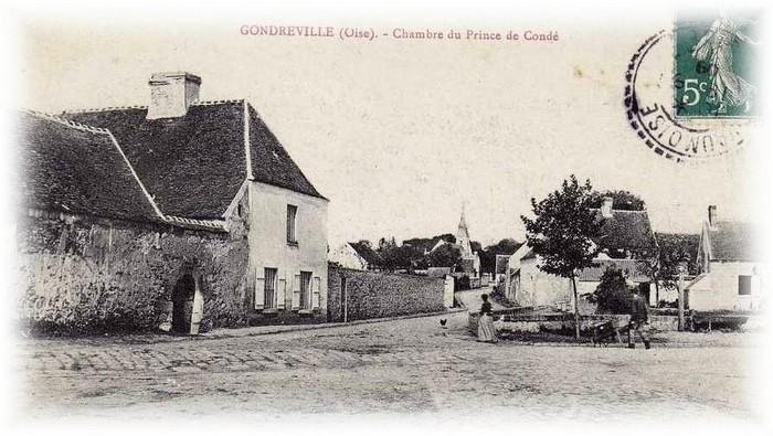 La chambre du prince de Condé à Grondeville - Don de A.-P. Baudesson