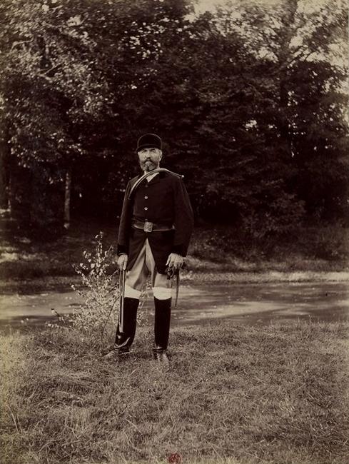 Le Comte de Chambray - Tiré de l'ouvrage L'Equipage du marquis de Chambray - Photos de Maurice de Gasté (1894) - Bnf (Gallica)