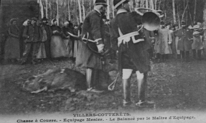 L'Equipage Menier - Collection A.-P. Baudesson - Don à la Société de Vènerie - 429