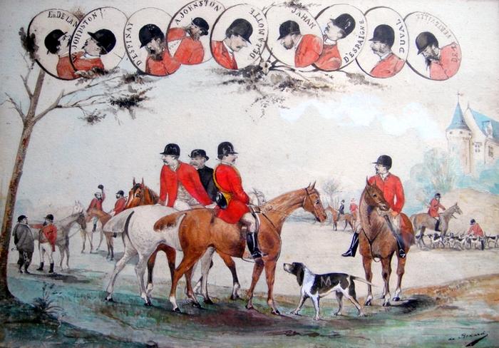 Les membres fondateurs - 1873