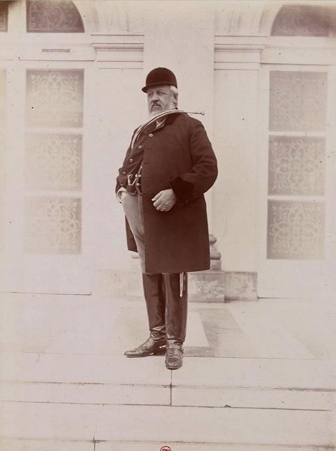 Le marquis de Boury - Tiré de l'ouvrage L'Equipage du marquis de Chambray - Photos de Maurice de Gasté (1894) - Bnf (Gallica)