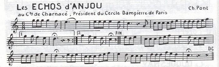 Les Echos d'Anjou ♫