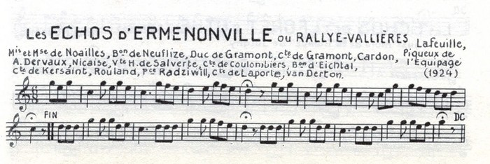 Les Echos d'Ermenonville