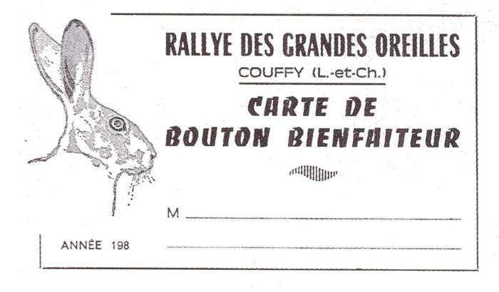 Rallye des Grandes Oreilles - Tiré de l'ouvrage Deux Siècles de Vènerie à travers la France - H. Tremblot de la Croix et B. Tollu (1988)