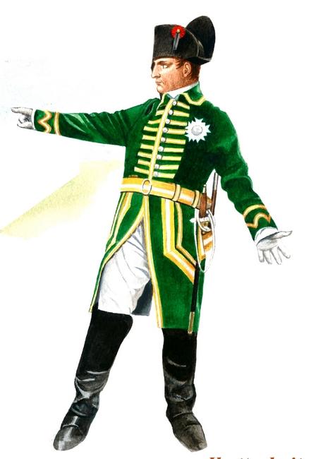 Napoléon Ier - Tenue de chasse - Don à la Société de Vènerie