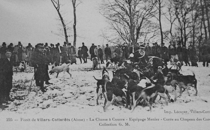 L'Equipage Menier - Collection A.-P. Baudesson - Don à la Société de Vènerie - 479