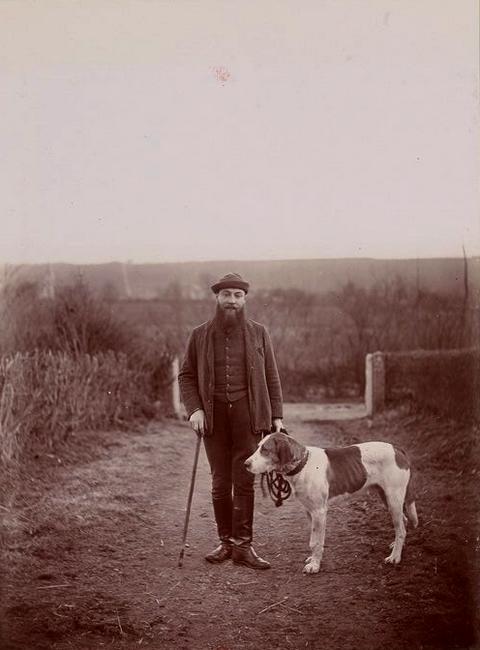 Roger Laurent - Tiré de l'ouvrage L'Equipage du marquis de Chambray - Photos de Maurice de Gasté (1894) - Bnf (Gallica)