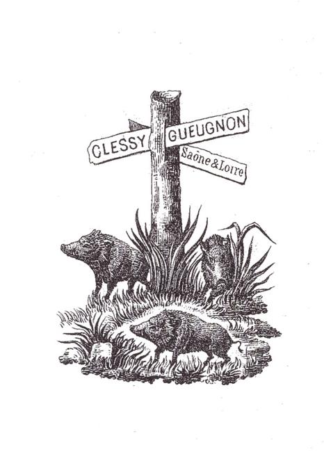 Equipage de Montholon - Tiré de l'ouvrage Deux Siècles de Vènerie à travers la France - H. Tremblot de la Croix et B. Tollu (1988)