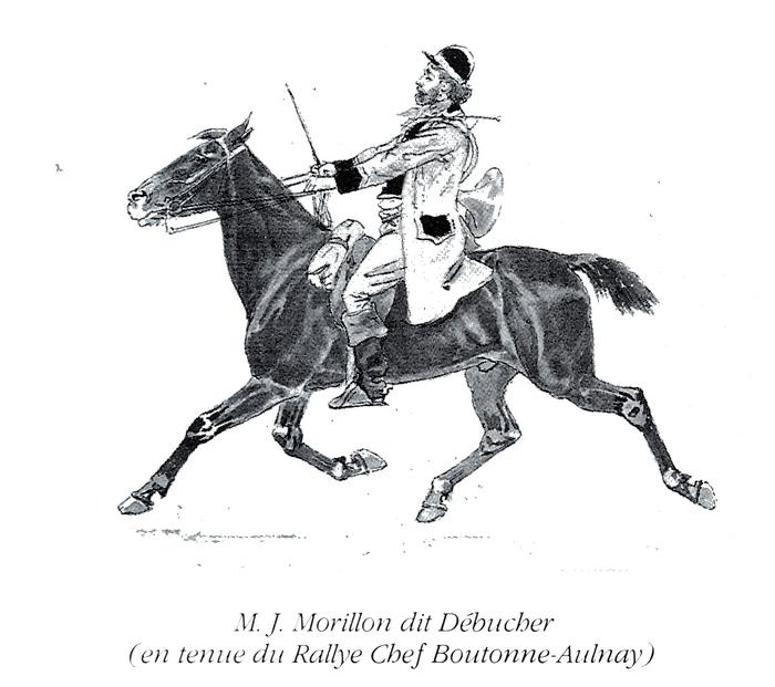 M. Morillon - Tiré de l'ouvrage Deux Siècles de Vènerie à travers la France - H. Tremblot de la Croix et B. Tollu (1988)
