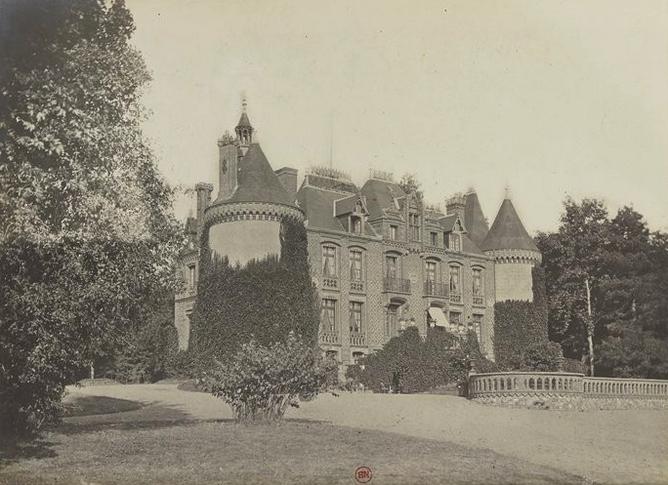 Gournay - Tiré de l'ouvrage L'Equipage du marquis de Chambray - Photos de Maurice de Gasté (1894) - Bnf (Gallica)