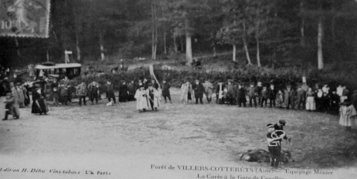 L'Equipage Menier - Collection A.-P. Baudesson - Don à la Société de Vènerie - 462