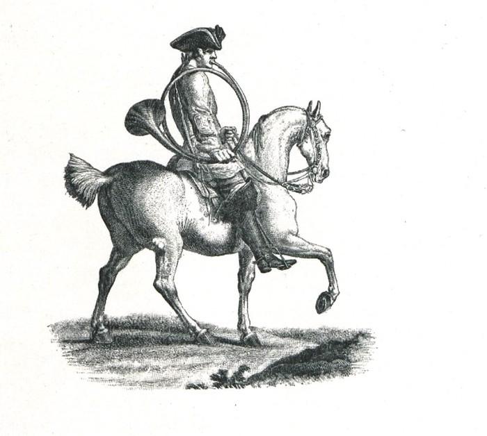 XVIIIe siècle - Illustration tirée de l'ouvrage La Chasse à travers les Âges - Comte de Chabot (1898) - A. Savaète (Paris) - BnF (Gallica)