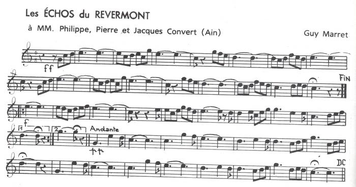 Les Echos de Revermont