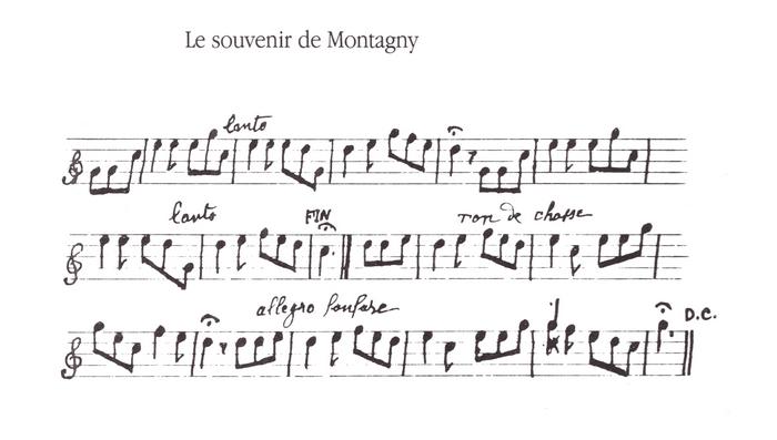 Le Souvenir de Montigny