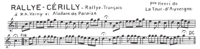 La Rallye Cérilly