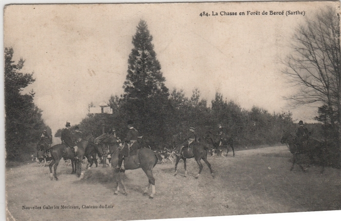 Equipage de Beaumont-Les-Autels, Rallye Bercé, Rallye Ecouves © Collection Claude Alphonse Leduc - Château de Montpoupon