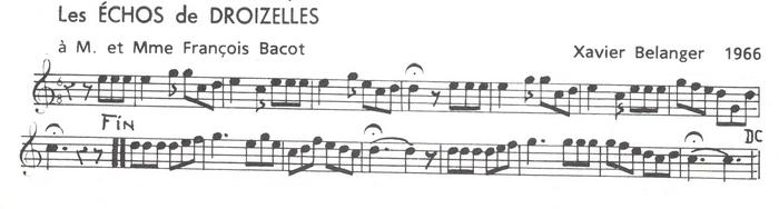 Les Echos de Droizelles