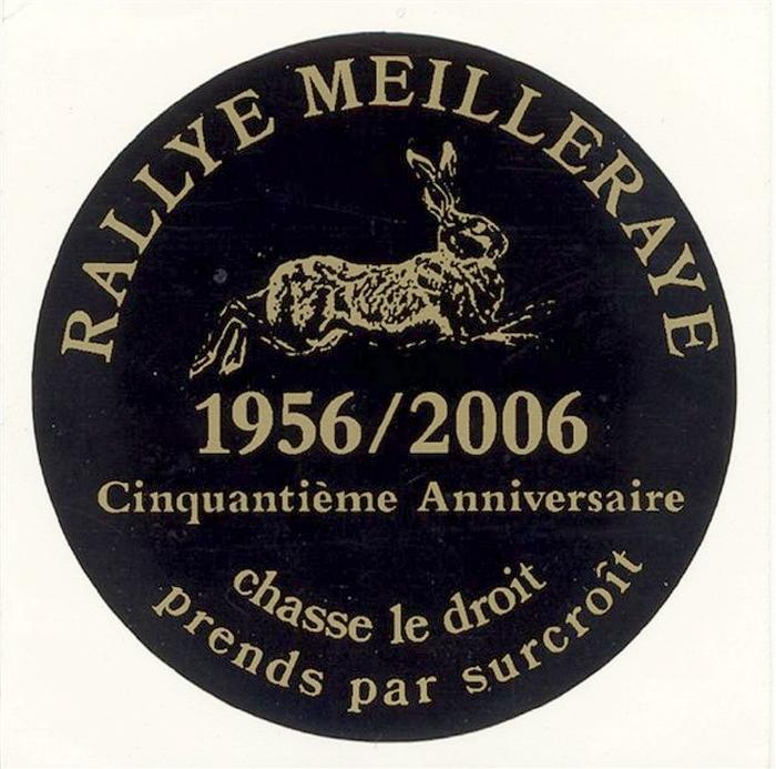 Rallye Meilleraye - Don de M. J. Bureau à la Société de Vènerie