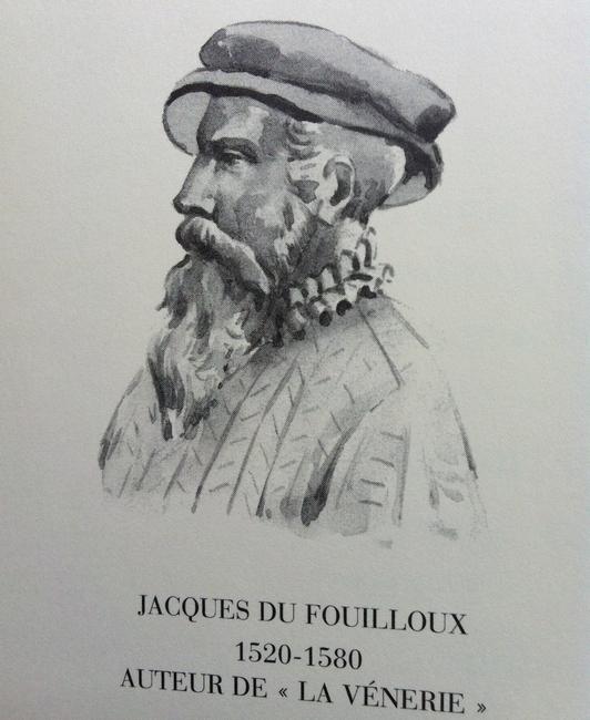 Du Fouilloux par Karl Reille - Illustration tirée de l'ouvrage La Vénerie française contemporaine (1914) - Le Goupy (Paris)