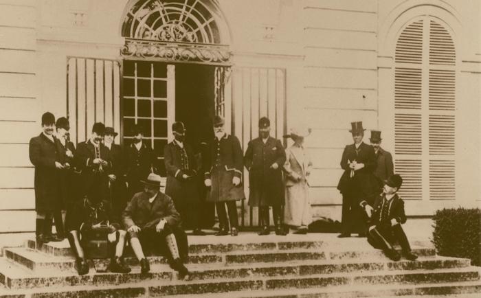 Les Menier - Don de M. A.-P. Baudesson à la Société de Vènerie