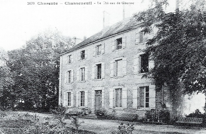 Goursac - Tiré de l'ouvrage Deux Siècles de Vènerie à travers la France - H. Tremblot de la Croix et B. Tollu (1988)