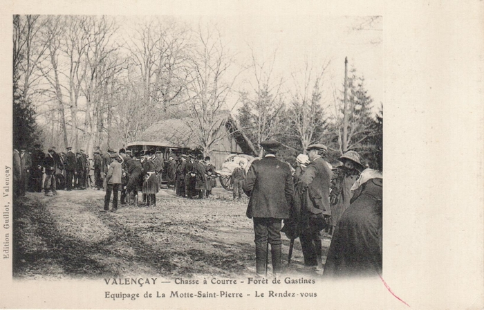 Montpoupon - Archives du Château de Montpoupon - Don à la Société de Vènerie